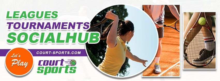 tennis tournament, leagues, social hub